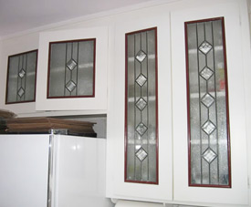 cabinet doors barragan glass works stained glass